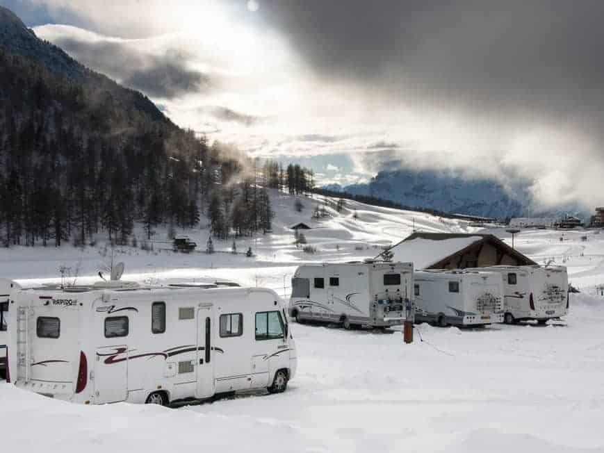 autorulota ski gocamper