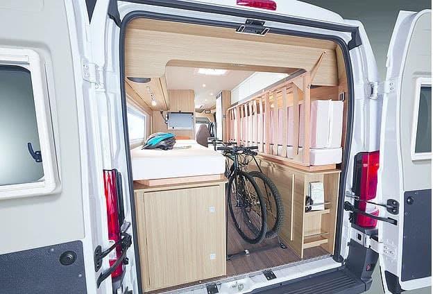 interior campervan gocamper