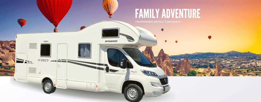 autorulota family adventure go camper inchiriat
