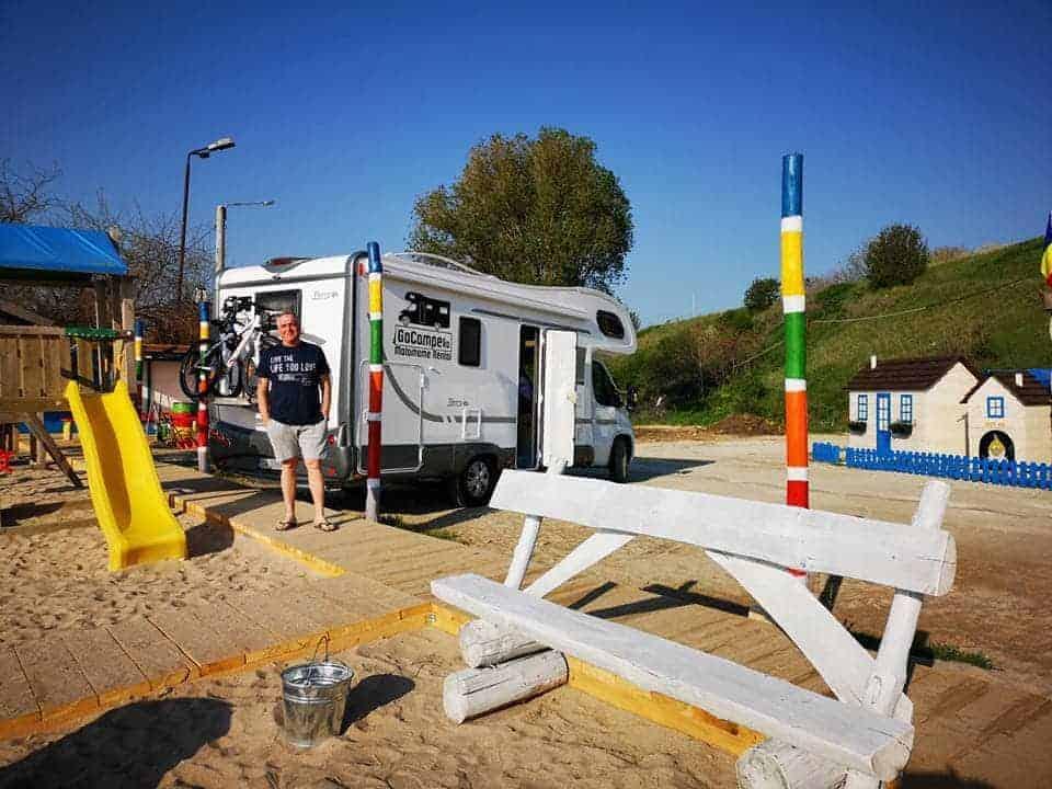 autorulota mare romania gocamper plaja